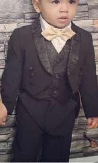 boy tuxedo set / suits set