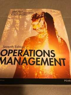 Operations Management 7th Pearson