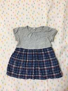 🚚 Muji無印良品女嬰洋裝