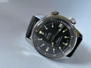 Enicar Sherpa Super Divette Compressor watch