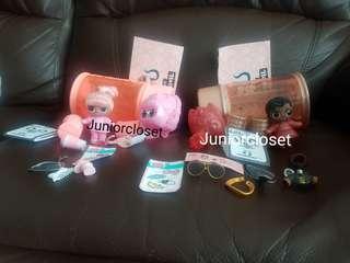 🚚 [Juniorcloset] 🆕️ authentic L.O.L Surprise doll Hairgoals Lol surprise Snow bunny