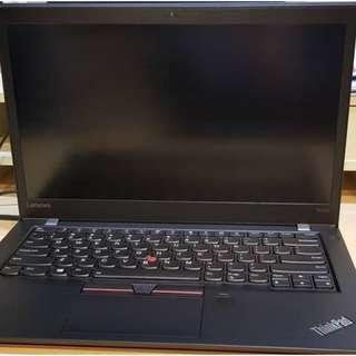 Lenovo T470s i5-7300u/8/256GB  touch screen 3ry warranty