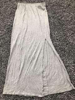 ARITZIA TALULA- Long Skirt / LightGrey / SMALL