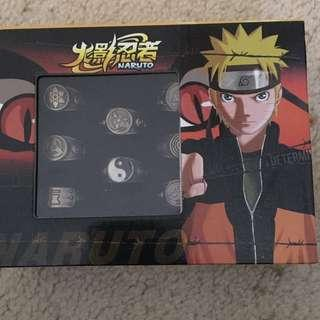Naruto- Akatsuki collector Rings