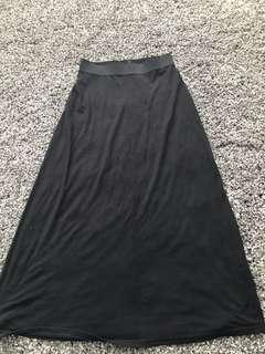 GAP /Long Skirt / BLACK /SMALL