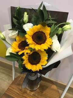 Sunflower Bouquet | Valentine's Day | Flower Surprise