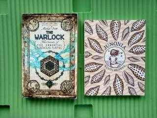 Young Adult Books: The Warlock and Junonia (Sold as Bundle)