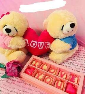 PARSEL TEDDY COUPLES + SEKAT BOOK 10