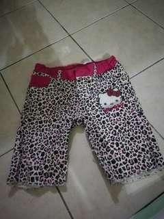 Hello kitty sanrio quarter pants#febp55