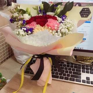 🚚 Rose flower bouquet | Flower | Flower bouquet | 花