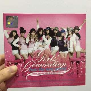 [WTS] Girls' Generation Into the new world the 1st asia tour