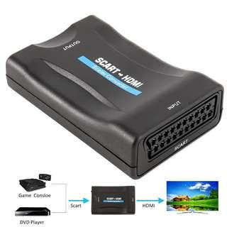 SCART to HDMI Audio Video Converter