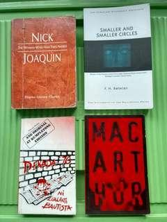 Fiction Books by Filipino Authors (Sold as Bundle)