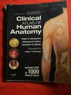 McMinn Atlas of Human Anatomy Med Book