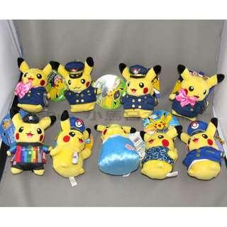 Pokemon Store 日本限定 比卡超毛公仔