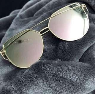 Rose Gold / Gold Sunglasses
