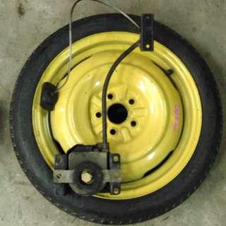 Spare Tyre Set For Toyota Wish