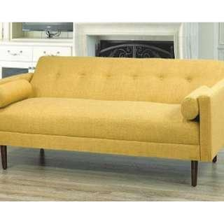 Free Delivery and Assembly -  Brand New from Manufacturer - Canary Song Sofa Convertable Bed