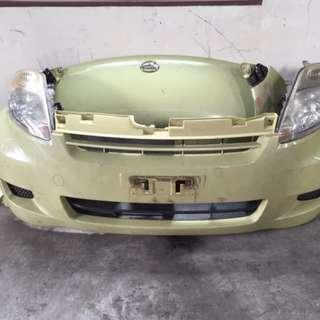 Front bodypart Passo For Perodua Myvi