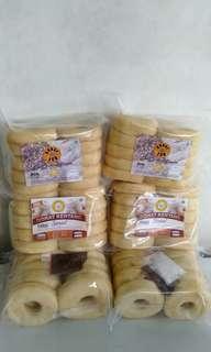 Donat kentang premium dan unyil