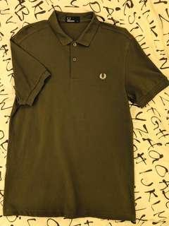 Fred Perry Polo (Size M) - Olive