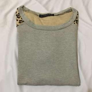 sweater sixence leopard