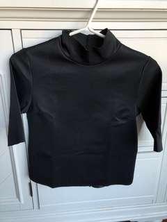 Zara Mockneck Shirt
