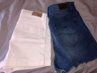 Size 6-8 Denim Shorts