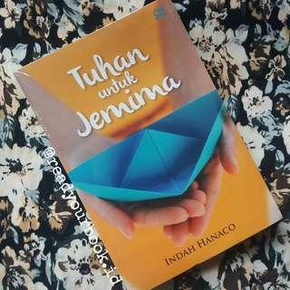 """Novel """"Tuhan untuk Jemina"""""""