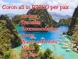 All in Coron