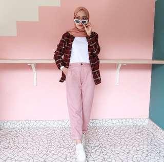 Mika colour pants basic
