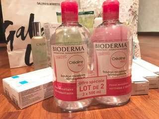 貝膚黛瑪BIODERMA 舒敏高效潔膚液H2O 500ml
