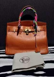 Hermes Birkin Calfskin Leather