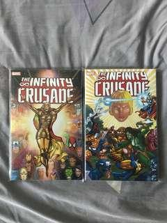 Marvel comics Infinity crusades vol 1&2