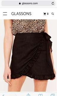 Glassons Linen wrap skirt