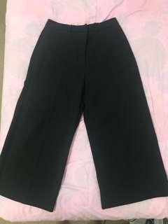 H&M Black Culottes