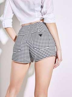 BNWT Guess Gingham Shorts