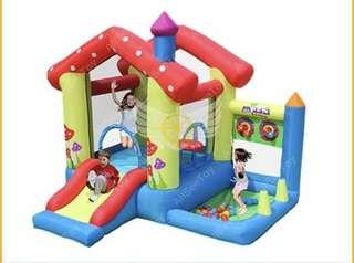 5307 Soopa doopa Inflatable Jumping with Air Blower,Bouncy Castle,Bounce House