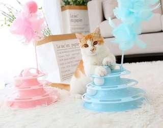 New Year Beautiful Pastel Colors Play Toy Gift for Cats Kittens - Brand new colours! Ready Stocks!