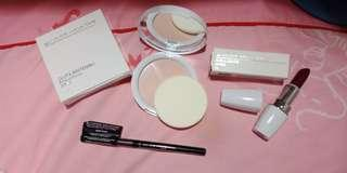 COLOUR COLLECTION SET lipstick, pressed powder, Retractable eyeliner