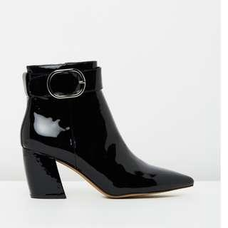 Alias Mae EU 36 AU 5 Leather lining black boots