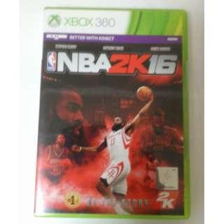 中文版 NBA 2K16 XBOX 360