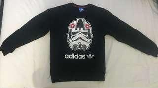 Adidas Starwars Jumper Size M but fits like small