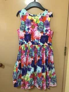 H&M colorful dress 10 to 11 years old size