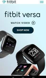 🚚 Fitbit Versa Special Edition Smart Watch