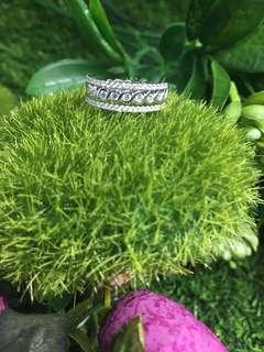 18K White gold two way Diamond Ring