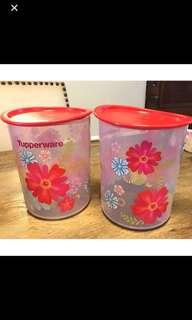 Tupperware - CNY red floral