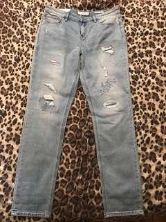 *PRICE DROP* Brand new w/tags jeanswest slim boyfriend jeans