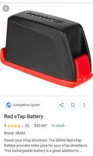 Sram red etap battery