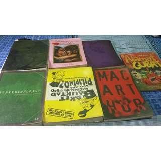 (7 Items) Bob Ong Book Collection